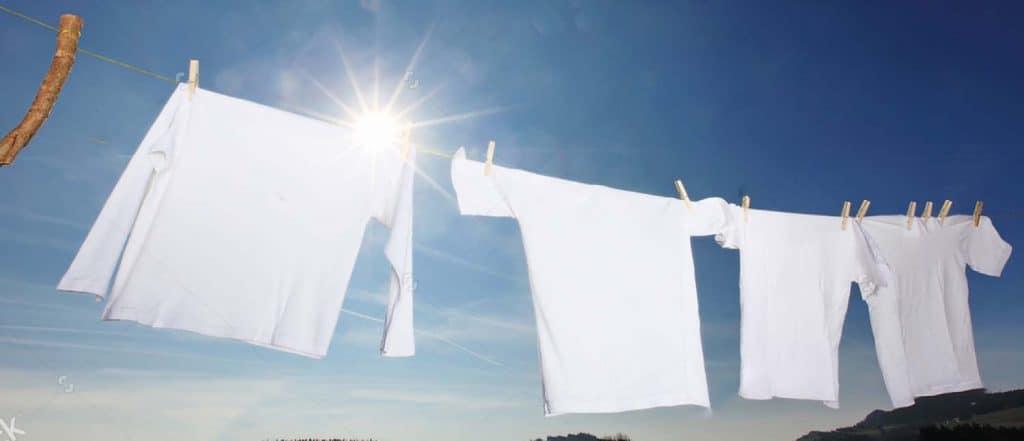 Vaatteiden valkaisu